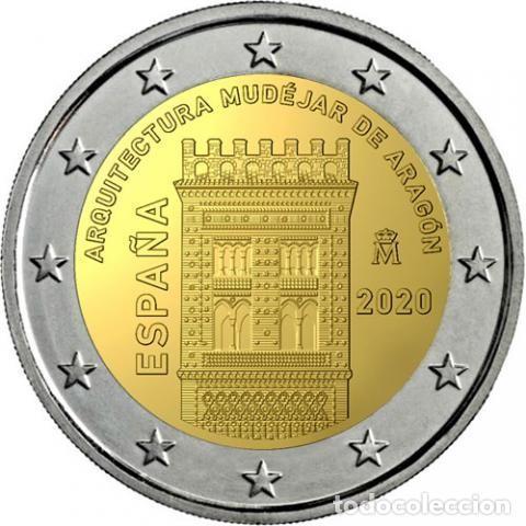 "Euros: Serie España 2020 SC + 2€ Conmemorativa 2020 ""Arte Mudejar"" - Foto 4 - 254286235"