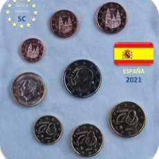 Euros: SERIE ESPAÑA 2021 SC. Lote 254286280