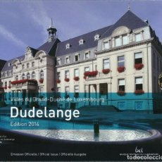 Euros: CARTERA LUXEMBURGO 2014 - 9 VALORES - INCLUYE MONEDA CONMEMORATIVA. Lote 254614705