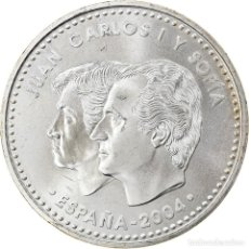 Euros: ESPAÑA, 12 EURO, 2004, MADRID, SC, PLATA, KM:1095. Lote 254666175