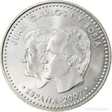 Euros: ESPAÑA, 12 EURO, 2007, MADRID, FDC, PLATA, KM:1129. Lote 254667165