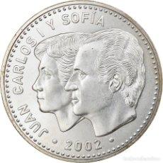 Euros: ESPAÑA, 12 EURO, 2002, MADRID, SC, PLATA, KM:1049. Lote 254670175