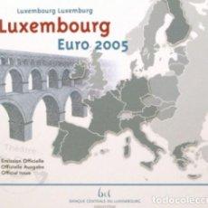 Euros: CARTERA LUXEMBURGO 2005 - 9 VALORES - INCLUYE LA CONMEMORATIVA. Lote 254730470