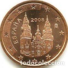 Euros: ESPAÑA 2008. 2 CENTIMOS. SIN CIRCULAR. Lote 255455385
