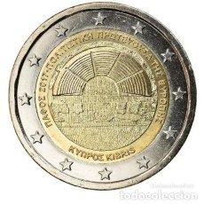 Euros: MONEDA 2 EUROS CHIPRE 2017 - PAFOS CIUDAD EUROPEA DE LA CULTURA - SIN CIRCULAR. Lote 257779810
