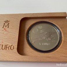 Euros: MONEDA PLATA 1 ONZ ESPAÑA 5 EUROS 1997 NIEUPORT AVIACION ESPAÑOLA. Lote 259242095