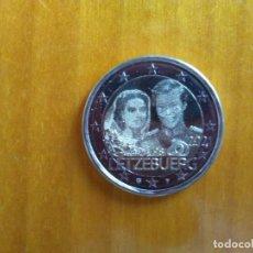 Euro: 2 EUROS -LUXEMBURGO 2021- MATRIMONIO GRAN DUQUE ENRIQUE Y GRAN DUQUESA MARÍA TERESA -FOTO- S/C. Lote 259263350