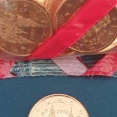 Euros: MONEDA 5 CTS ESPAÑA 2002 - SIN CIRCULAR. Lote 270360808