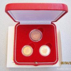 Euros: ESTUCHE, 1 - 2 - 5 CENTIMOS DE EURO MONACO 2005 ... Lote 260775365