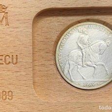 Euro: ESPAÑA, MONEDA DE 5 ECUS DEL AÑO 1989. Lote 261172005