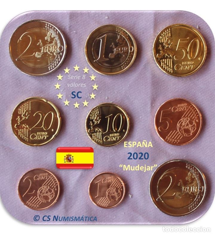 "Euros: Serie España 2020 SC + 2€ Conmemorativa 2020 ""Arte Mudejar"" - Foto 2 - 254286235"