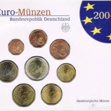 Euros: BLISTER / CARTERA ALEMANIA 2004 - CECA J - 8 VALORES. Lote 261561440