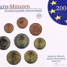 Euros: BLISTER / CARTERA ALEMANIA 2004 - CECA G - 8 VALORES. Lote 261561510