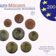 Euros: BLISTER / CARTERA ALEMANIA 2004 - CECA F - 8 VALORES. Lote 261561570