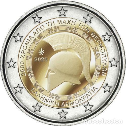 GRECIA 2020 2€ 2.500 AÑOS DE LA BATALLA DE LAS TERMÓPILAS (Numismática - España Modernas y Contemporáneas - Ecus y Euros)