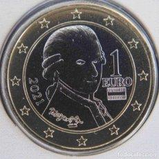 Euros: MONEDA 1 EURO AUSTRIA 2021 - SIN CIRCULAR. Lote 262812770