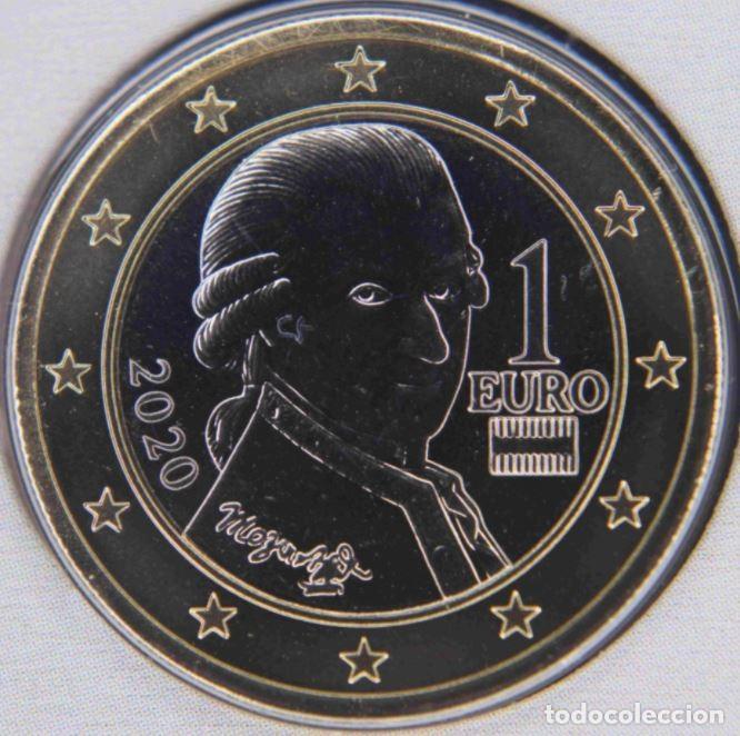 MONEDA 1 EURO AUSTRIA 2020 - SIN CIRCULAR (Numismática - España Modernas y Contemporáneas - Ecus y Euros)