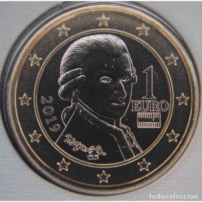 MONEDA 1 EURO AUSTRIA 2019 - SIN CIRCULAR (Numismática - España Modernas y Contemporáneas - Ecus y Euros)