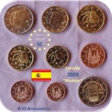 "Euros: SERIE ESPAÑA 2020 SC + 2€ CONMEMORATIVA 2020 ""ARTE MUDEJAR"". Lote 263607785"
