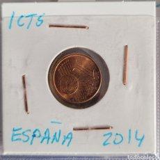 Euros: MONEDA DE 1 CÉNTIMO DE EURO ESPAÑA 2014. Lote 264480724
