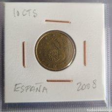 Euros: MONEDA 10 CÉNTIMOS DE EURO ESPAÑA 2008. Lote 264482039