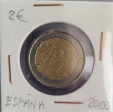 Euros: MONEDA DE 2 EUROS ESPAÑA 2000. Lote 264482344