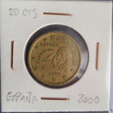 Euros: MONEDA 20 CÉNTIMOS DE EURO ESPAÑA 2000. Lote 264482399