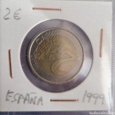 Euros: MONEDA DE 2 EUROS ESPAÑA 1999. Lote 264482429