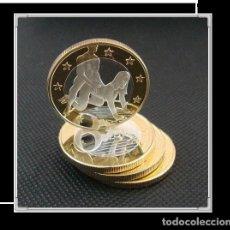 Euros: MONEDA EROTICA DE FANTASIA- PRUEBA - 6 EUROS SEX- KAMASUTRA - TOKEN SEXY - MODELO 8. Lote 264727124