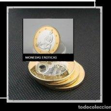 Euros: MONEDA EROTICA DE FANTASIA- PRUEBA - 6 EUROS SEX- KAMASUTRA - TOKEN SEXY - MODELO 19. Lote 264728379