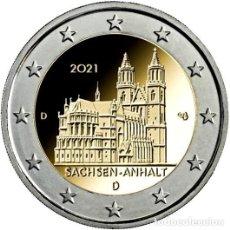 Euros: ALEMANIA 2 EUROS 2021 ESTADO DE SAJONIA ANHALT CATEDRAL DE MAGDEBURGO F. Lote 265728804