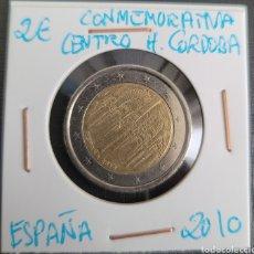 Euros: MONEDA DE ESPAÑA 2 EUROS CONMEMORATIVA CENTRO HISTÓRICO CORDOBA 2010. Lote 266035248