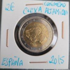 Euros: MONEDA DE ESPAÑA 2 EUROS CONMEMORATIVA CUEVA DE ALTAMIRA 2015. Lote 266035268