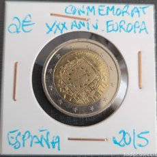 Euros: MONEDA DE ESPAÑA 2 EUROS CONMEMORATIVA XXXANIV. BANDERA EUROPA ESPAÑA 2015. Lote 266035383