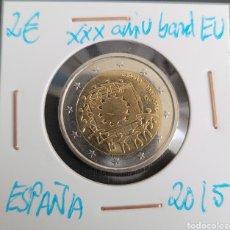 Euros: MONEDA DE ESPAÑA 2 EUROS CONMEMORATIVA XXXANIV. BANDERA EUROPA ESPAÑA 2015. Lote 266035403