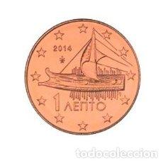Euros: MONEDA 1 CT GRECIA 2014 - SIN CIRCULAR. Lote 296595328