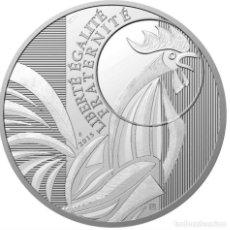 Euros: MONEDA 10 EUROS DE PLATA 2015 - GALLO - SIN CIRCULAR. Lote 268910354