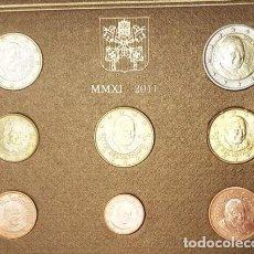 Euros: CARTERA VATICANO 2011 - 8 VALORES SIN CIRCULAR. Lote 269023109