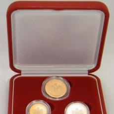 Euros: ESTUCHE MONACO 2005 PROOF - CONTIENE LAS MONEDAS DE 1 , 2 Y 5 CTS .. Lote 269026044