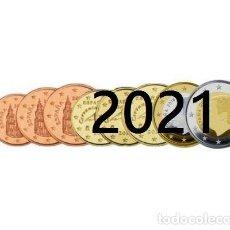 Euros: ESPAÑA 2021 SERIE 8 VALORES. Lote 269167603