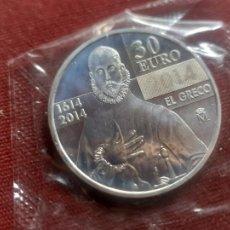 Euros: 30 EUROS 2014 ESPAÑA PLATA, PRECINTADA. Lote 269971343