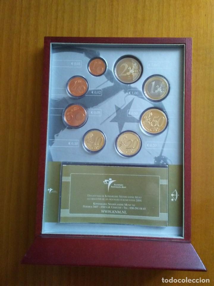 HOLANDA 2000 -ESTUCHE OFICIAL- PROOF (Numismática - España Modernas y Contemporáneas - Ecus y Euros)