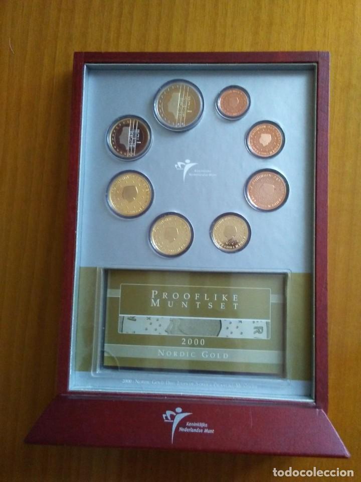 Euros: HOLANDA 2000 -ESTUCHE OFICIAL- PROOF - Foto 2 - 270125738