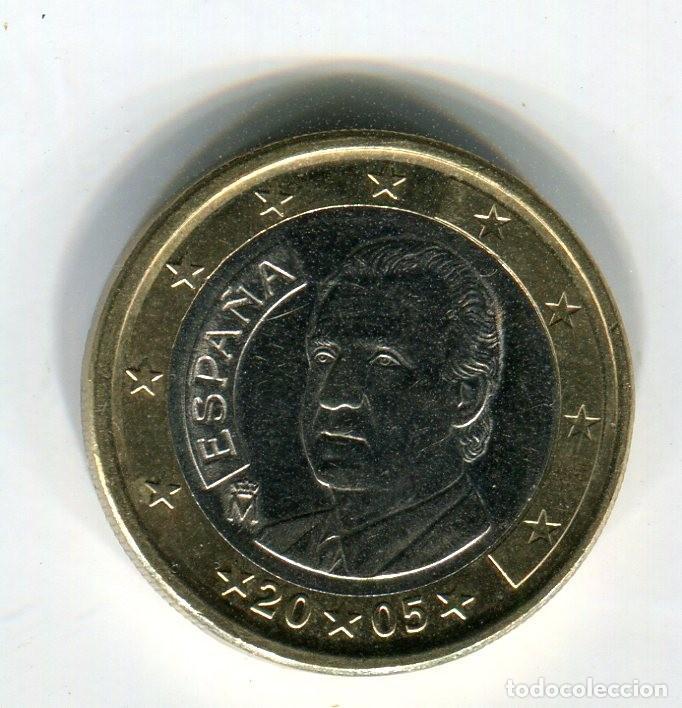 1 (UN) EURO ESPAÑA AÑO 2005 S/C (Numismática - España Modernas y Contemporáneas - Ecus y Euros)