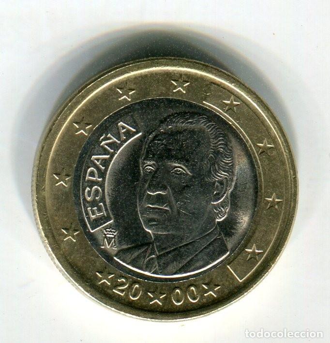 1 (UN) EURO ESPAÑA AÑO 2000 (Numismática - España Modernas y Contemporáneas - Ecus y Euros)