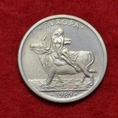 Euros: MONEDA PLATA 1 ECU ESPAÑA 1989 EBC ORIGINAL C3. Lote 270617878