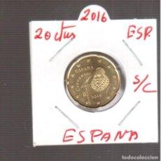 Euros: MONEDAS DE EUROS 20 CENTIMOS DE ESÀÑA S/C 2016. Lote 270889338