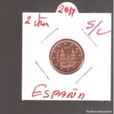 Euros: MONEDAS DE EUROS 2 CTMOS DE ESPAÑA S/C 2017. Lote 270889908