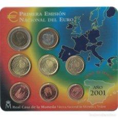 Euros: [#93538] ESPAÑA, SET, 2001, FDC, SIN INFORMACIÓN. Lote 271423888
