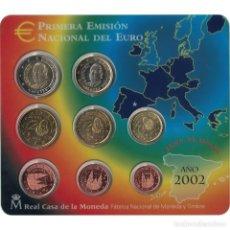 Euros: [#93539] ESPAÑA, SET, 2002, FDC, SIN INFORMACIÓN. Lote 271423943